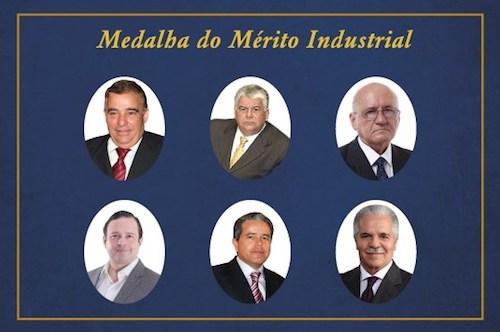 FIEC indica empresários que receberão a Medalha do Mérito Industrial – edições 2019 e 2020