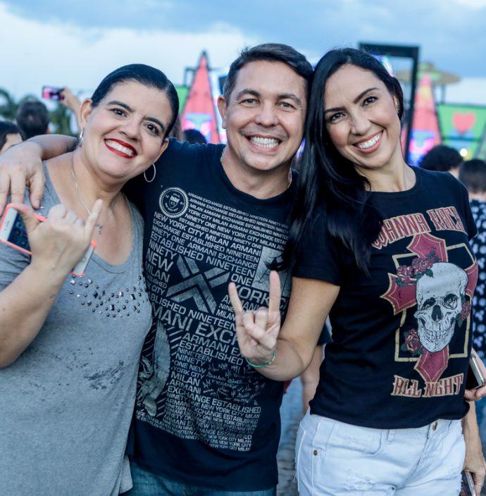 Milena Aragao, Marcio Cabral E Gabriela Morais