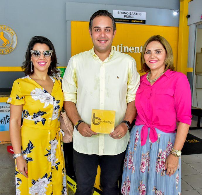 Mirian, Bruno E Denise Bastos