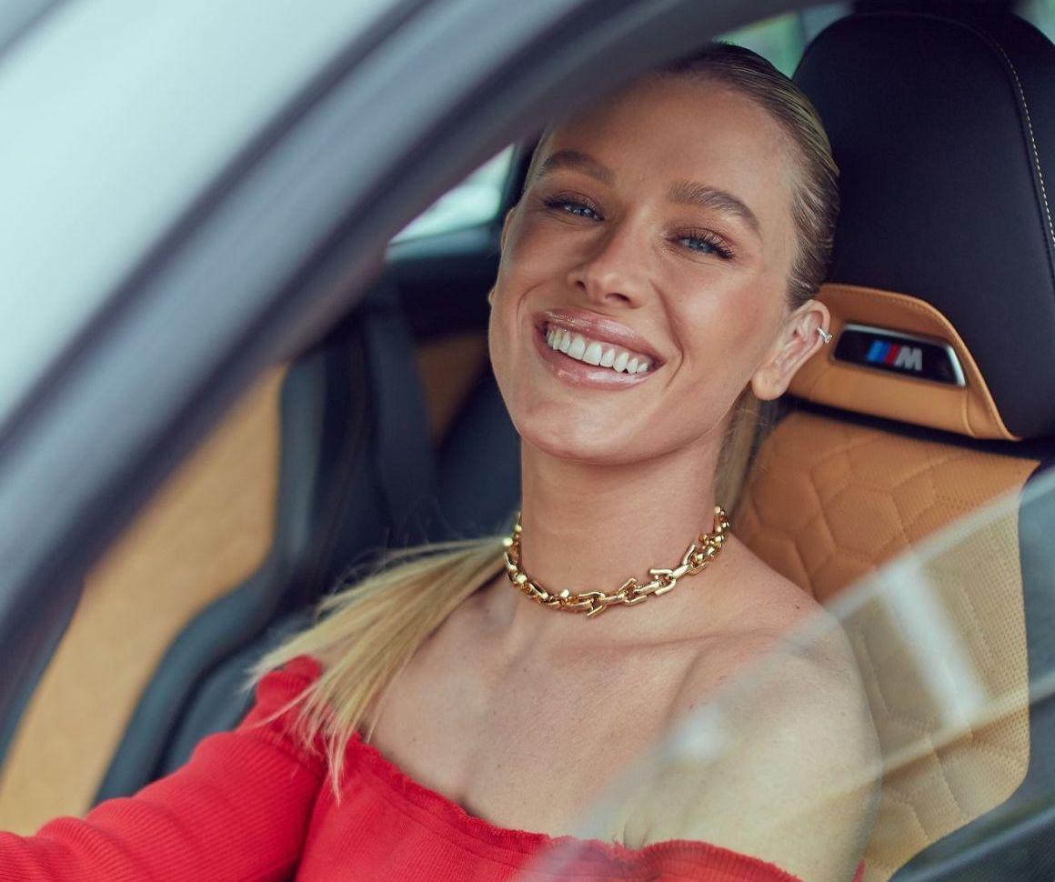 Fiorella Mattheis faz parte do novo time de embaixadores da BMW Brasil