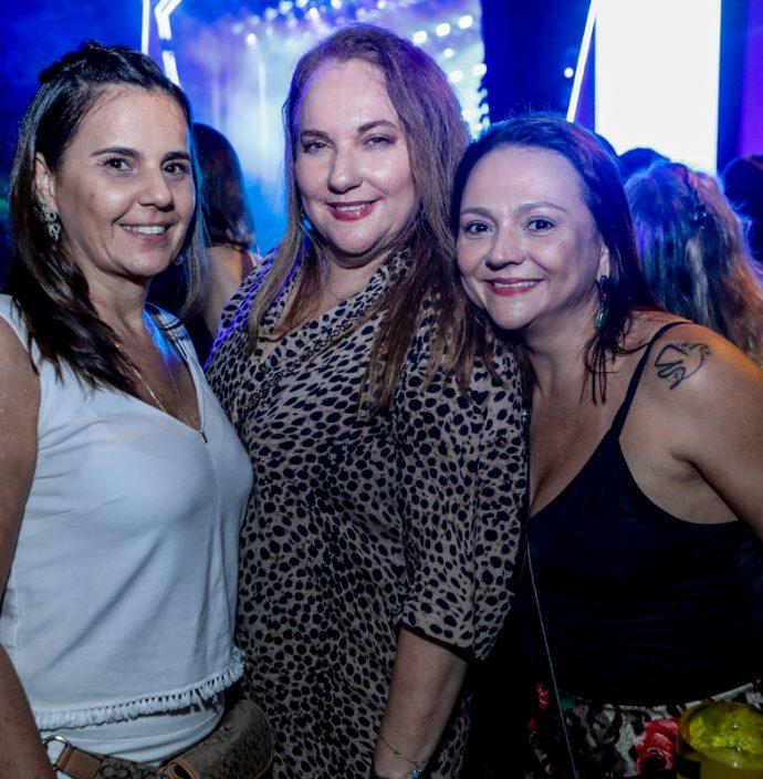 Patricia França. Luisiane Cavalcante E Olga Costa