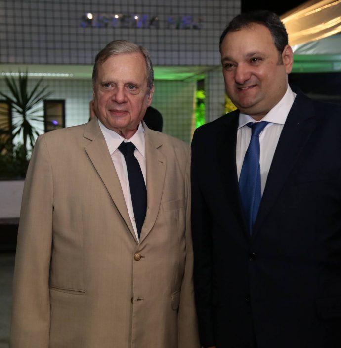 Patriolino Dias E Tasso Jereissati