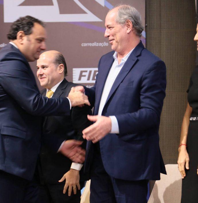 Patriolino Dias, Roberto Claudio, Ciro Gomes E Izolda Cela