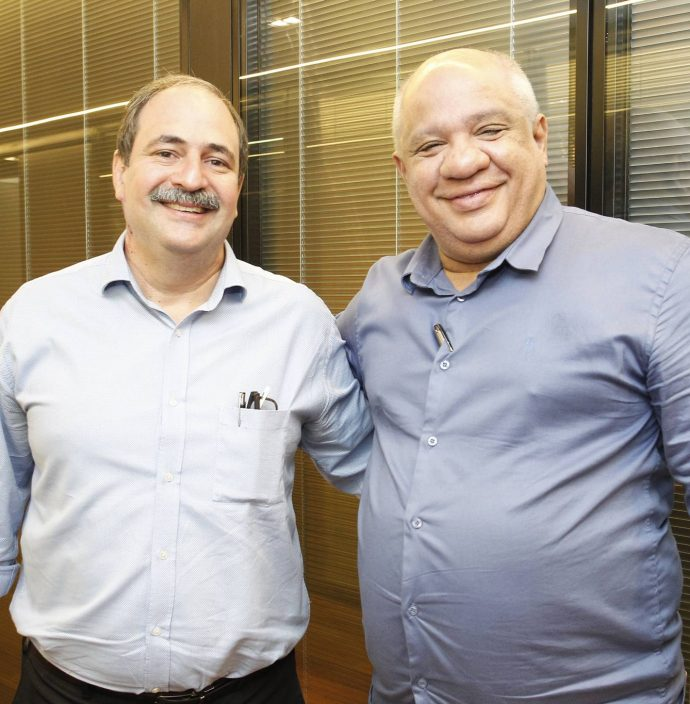 Paulo Andre Holanda E Pedro Alfredo