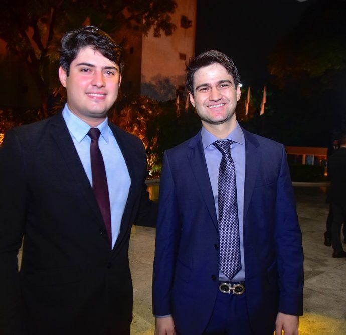 Paulo Victor Gadelha e Pedro Matos