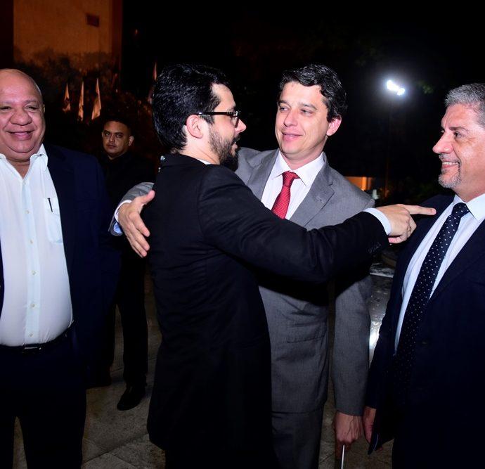 Pedro Alfredo, Rafael Fujita, André Siqueira, Sampaio Filho