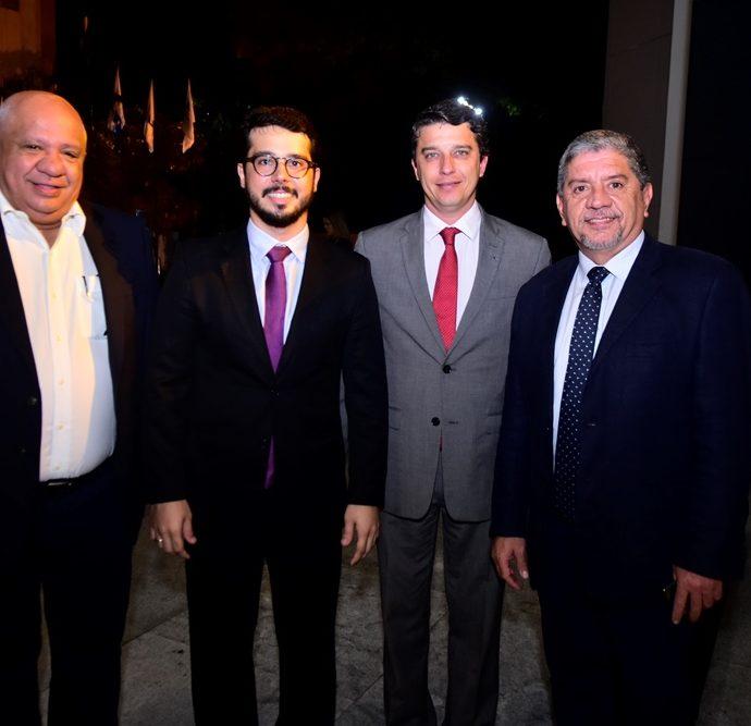 Pedro Alfredo, Rafael Fujita, André Siqueira e Sampaio Filho