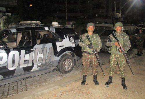 Camilo Santana destaca ações ostensivas e preventivas entre Forças Armadas e policiais do CE