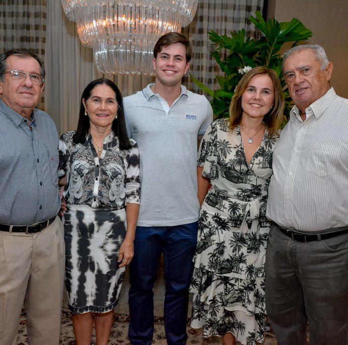 Raimundo Rodrigues, Marcia Paraiba, Diego E Gyna Jucá E Domar Pessoa