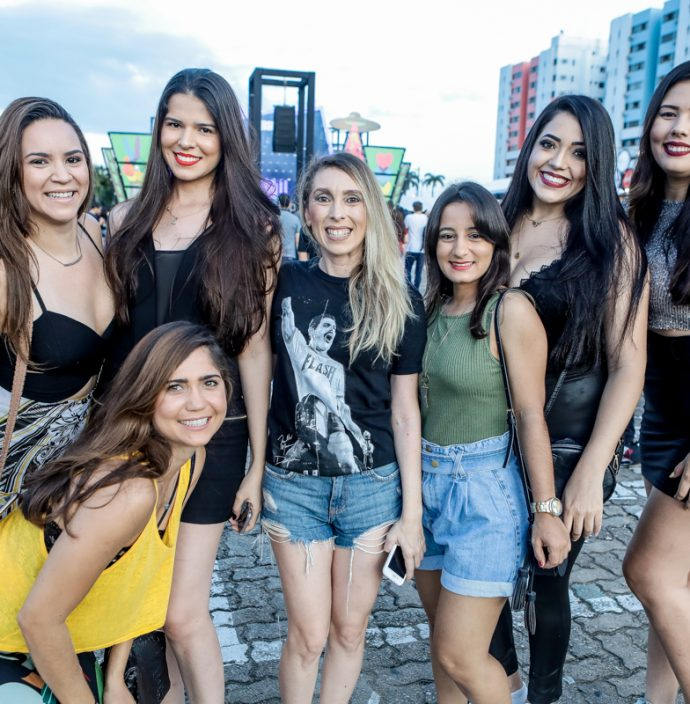 Raissa Lobo, Paula Raquel, Monalisa Neiva, Olivia Campos, Raquel Chaves, Sara Felix E Maria Helena