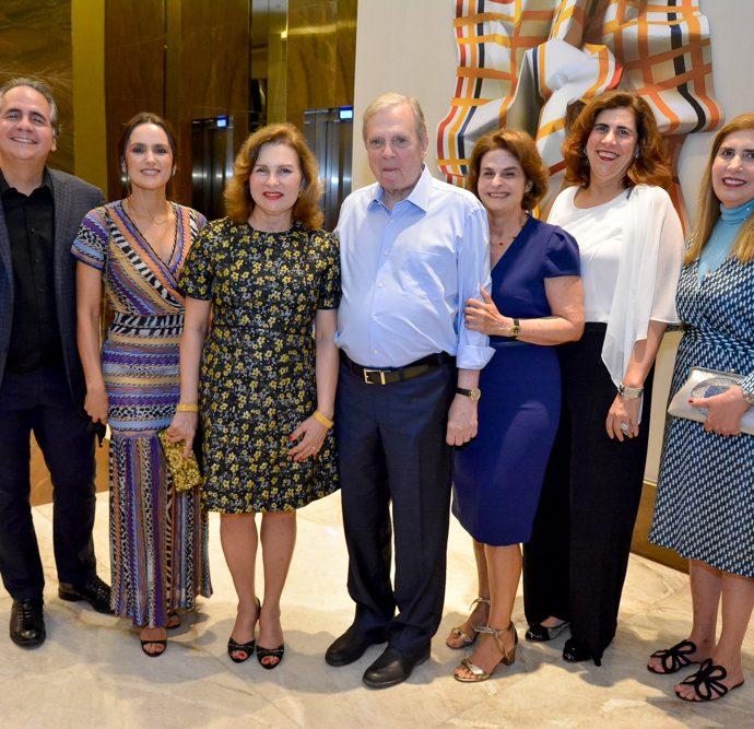 Ricardo Bacelar, Manoela E Renata Queiroz, Tasso, Lia, Maria José E Márcia Jereissati