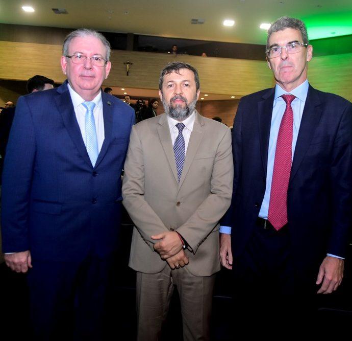 Ricardo Cavalcante, Elcio Batista e Geraldo Luciano