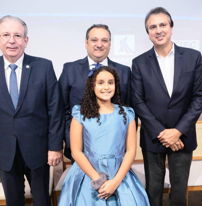 Ricardo Cavalcante, Patriolino E Sarah Dias E Camilo Santana
