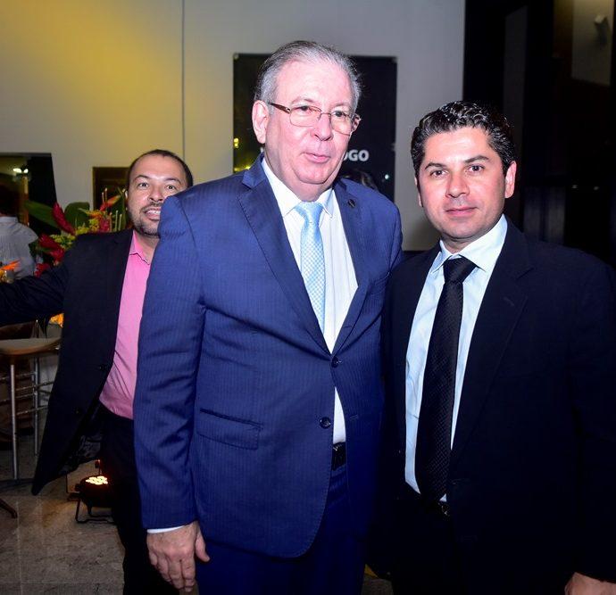Ricardo Cavalcante e Pompeu Vasconcelos