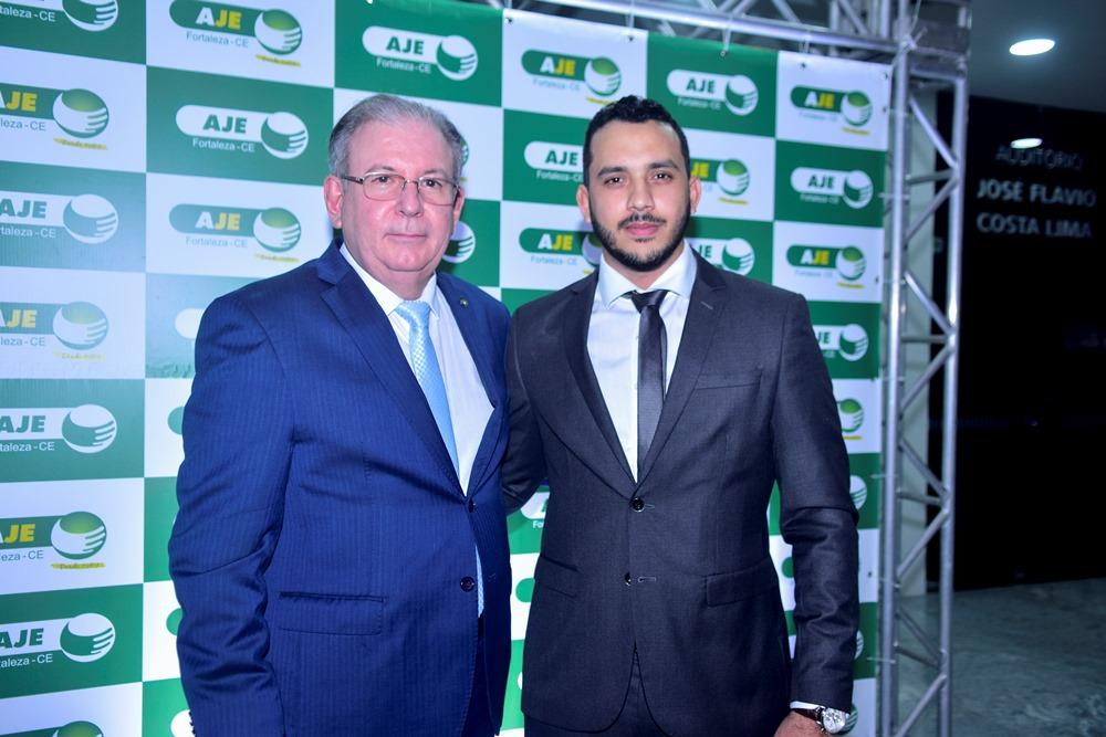 Valdemir Alves assume o comando da AJE Fortaleza em prestigiada solenidade na FIEC