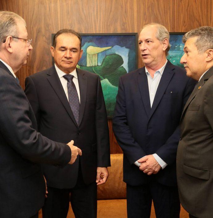 Ricardo Cavalcante, Washington Luiz, Ciro Gomes E Antonio Henrique
