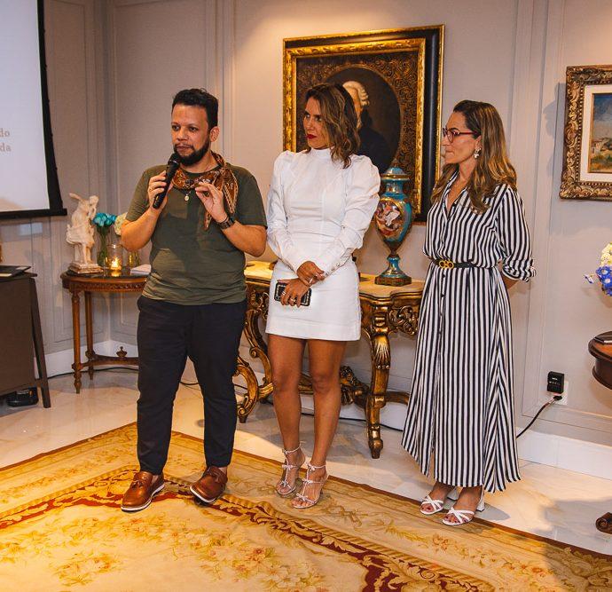 Roberto Alves, Ana Carolina Fontenele E Bianca Sales