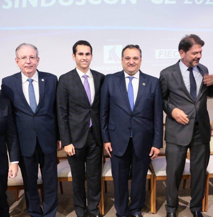 Roberto Claudio, Ricardo Cavalcante, Domingos Neto, Patriolino Dias, Cid Gomes E Camilo Santana