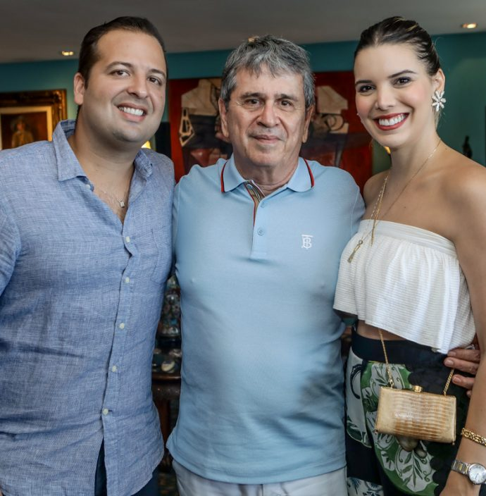 Rodrigo Ponte, Marcio Tavora E Nathalia Ponte