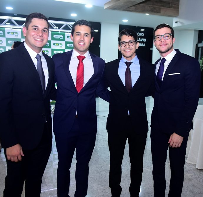 Romualdo Neto, Jonh Porto, Marcílio Dantas, Bruno Fernandes