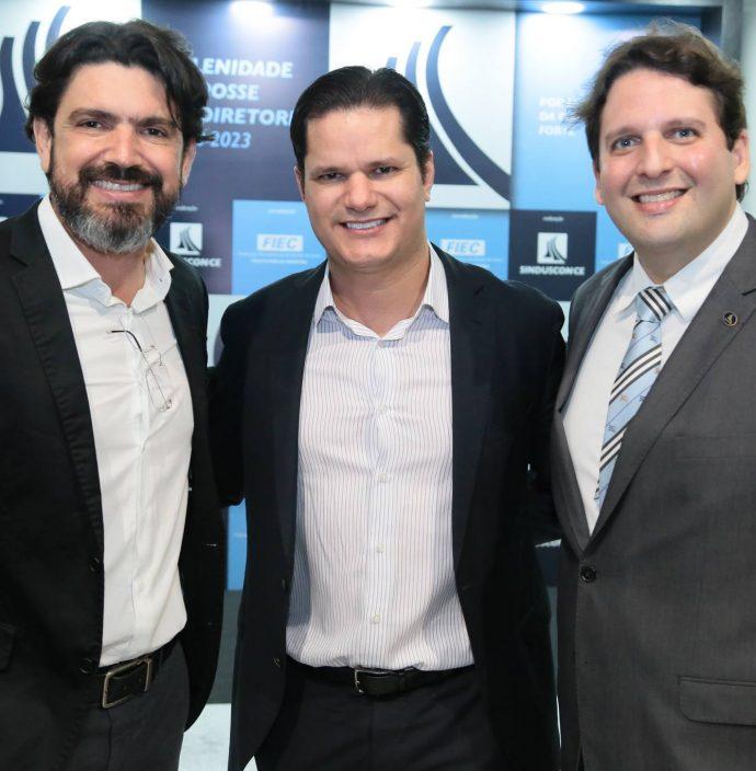 Romulo Santos, Leonardo Lima E Daniel Otoch