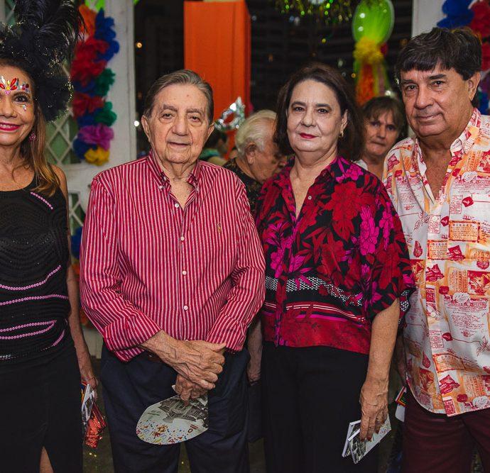 Rose Batista, Josue De Castro, Branca De Castro E Eliseu Batista