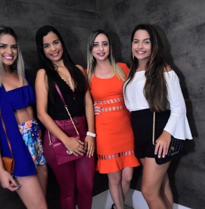 Samanta Caestra, Rivania Santos, Janaina Melo, Lívia Sintia