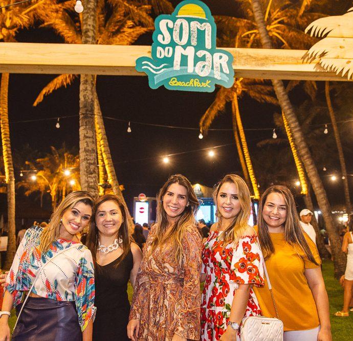 Samira Santiago, Renata Facundo, Olga Rocha, Juliana Veras E Laiana Elery