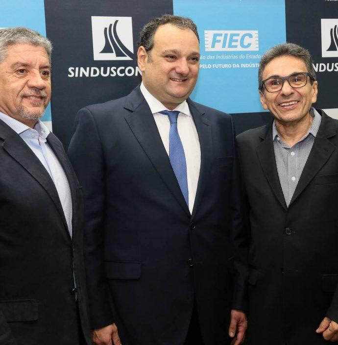 Sampaio Filho, Patriolino Dias E Airton Goncalves