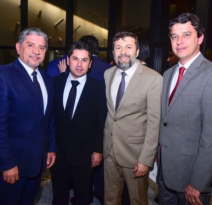Sampaio Filho, Pompeu Vasconcelos, Elcio Batista e André Siqueira