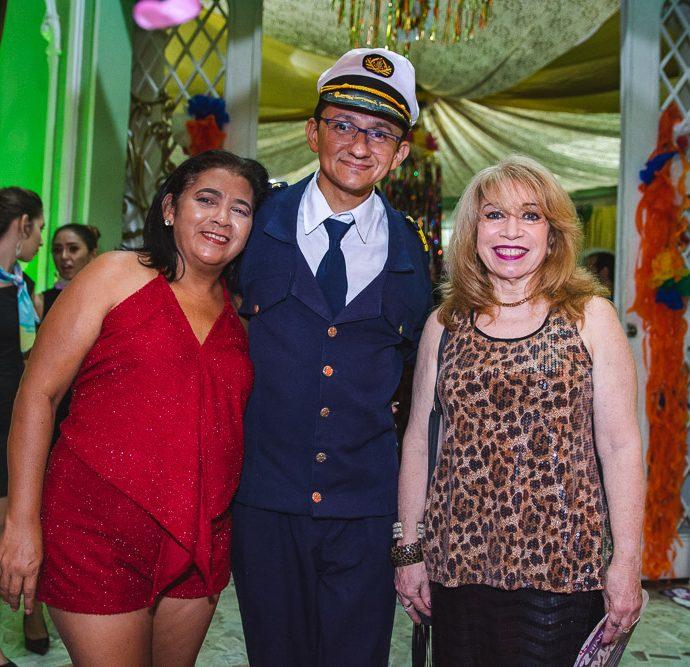 Sandra Silva, Eduardo Gaudino E Gerlene Castro Branco