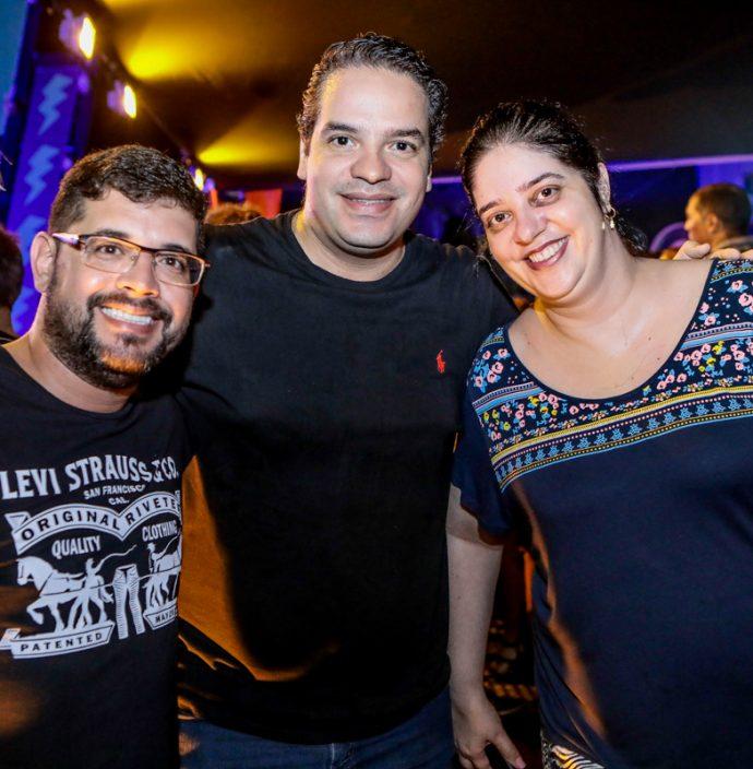 Saulo Moreira, Thiago E Claudia Holanda