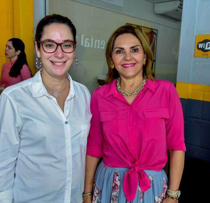 Silvia Leal E Denise Bastos