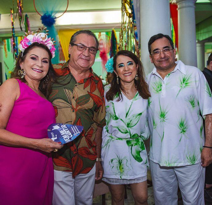 Tania Veras, Manuel Veras, Fatima Goncalves E Jardson Cruz