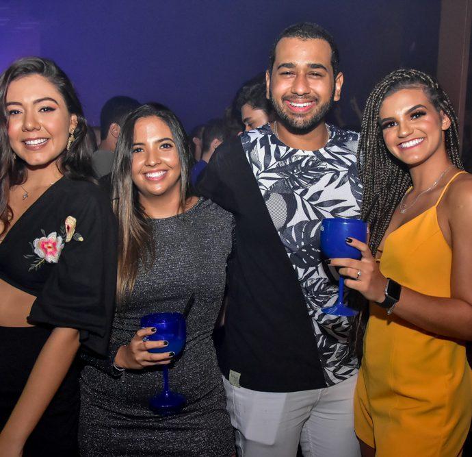 Thayanna Fontenele, Julia Freire, Vicente Junior E Julia Fernandes