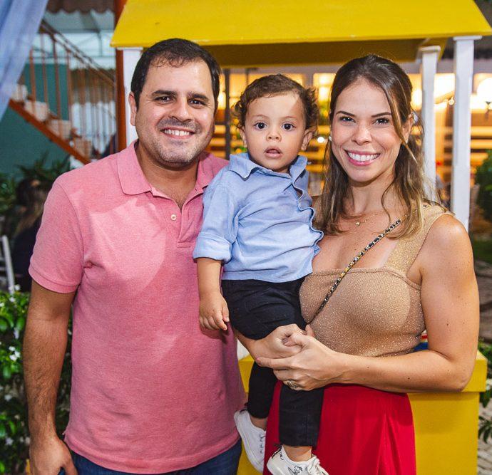 Thiago, Vinicius E Marina Borges