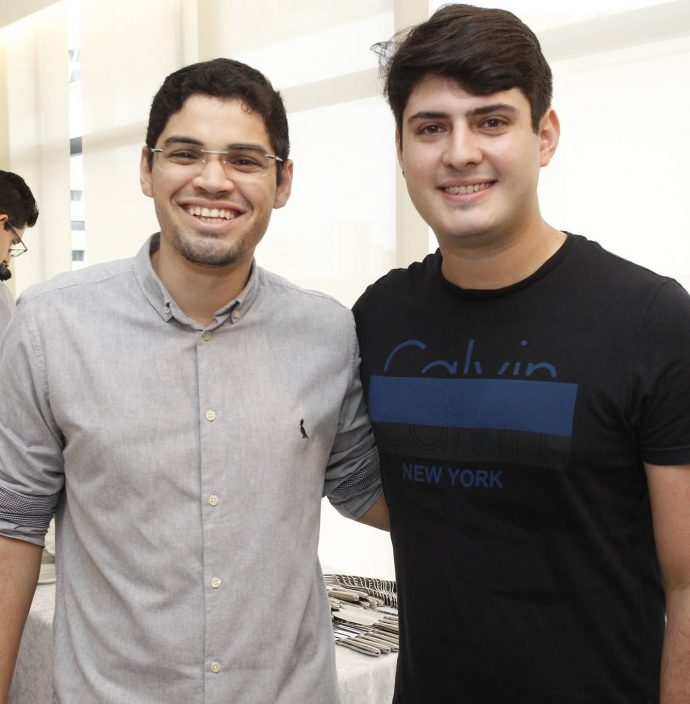 Tiago Guimaraes E Paulo Victor Gadelha