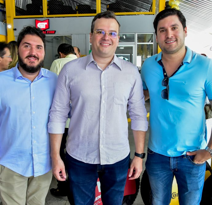 Tiago Silva, Jarson Fonteles E Daniel Duarte