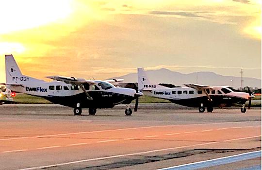 Aeronaves que realizarão voos regionais chegam a Fortaleza