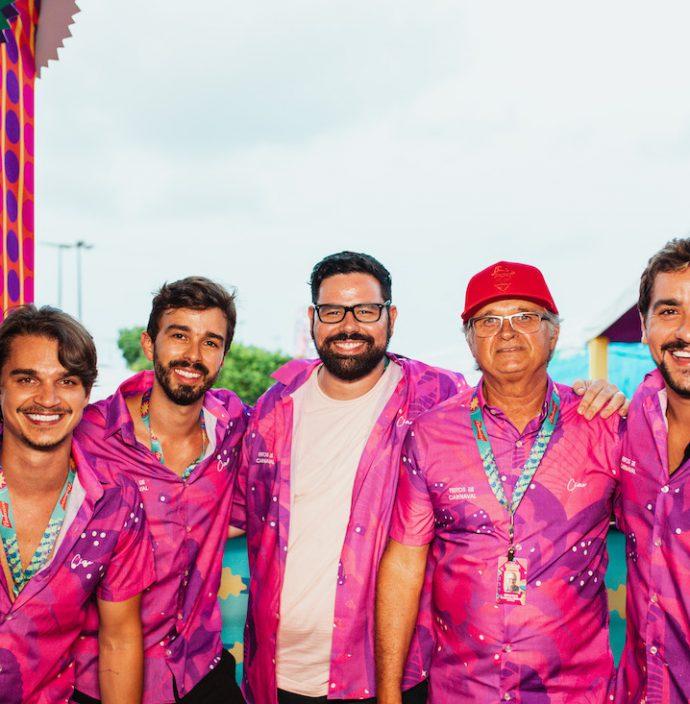 Victor Carvalheira, Rafael Lobo, Eduardo Rocha, Eduardo Carvalheira E Valmir Wanderley