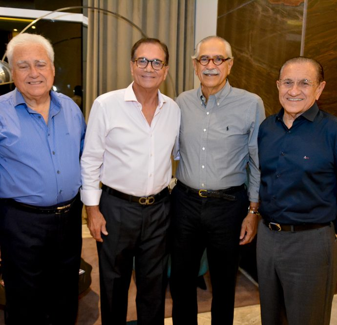 Waldir Diogo, Beto Studart, Roberto Cunha E Alfredo Costa