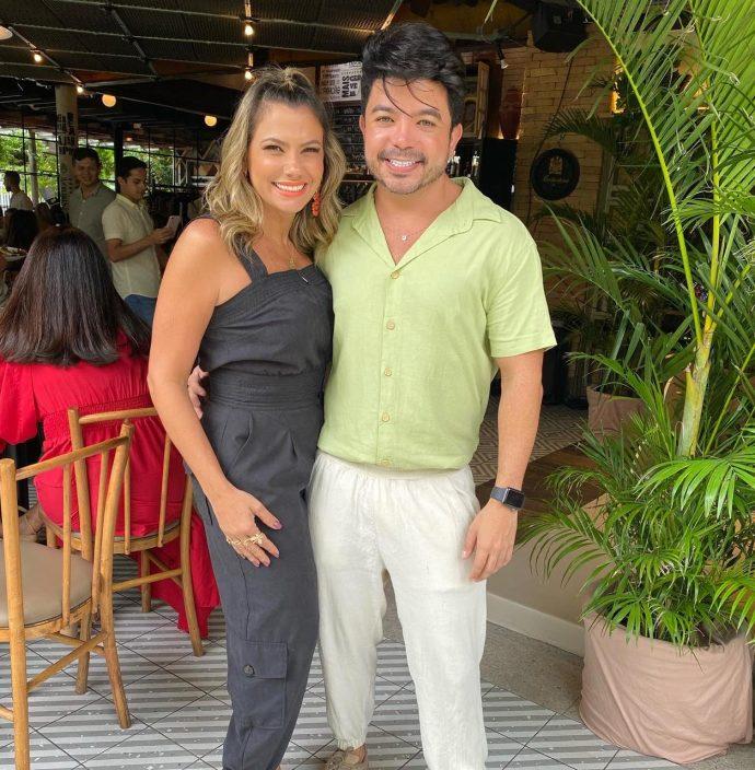 Vanessa Queirós e Rafael Gualberto