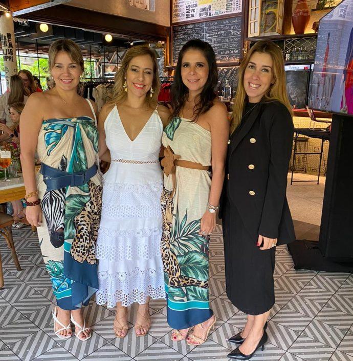 Jeritza Gurgel, Leticia Macêdo, Maria Lúcia Negrão e Raquel Machado