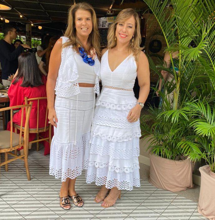 Alexandra Pinto e Leticia Macêdo