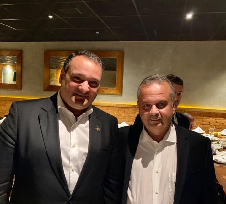 Patriolino Dias prestigia a posse de Rogério Marinho em Brasília