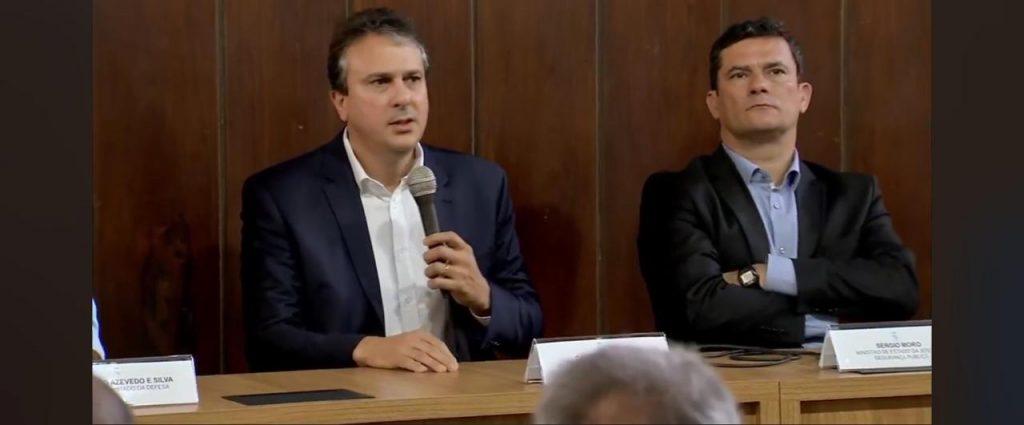 Camilo Santana e Sergio Moro
