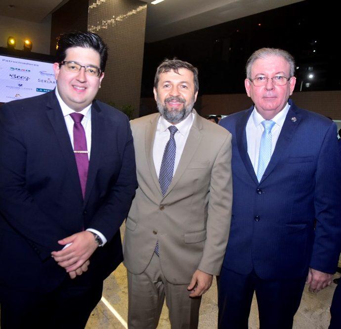 Yuri Torquato, Elcio Batista e Ricardo Cavalcante