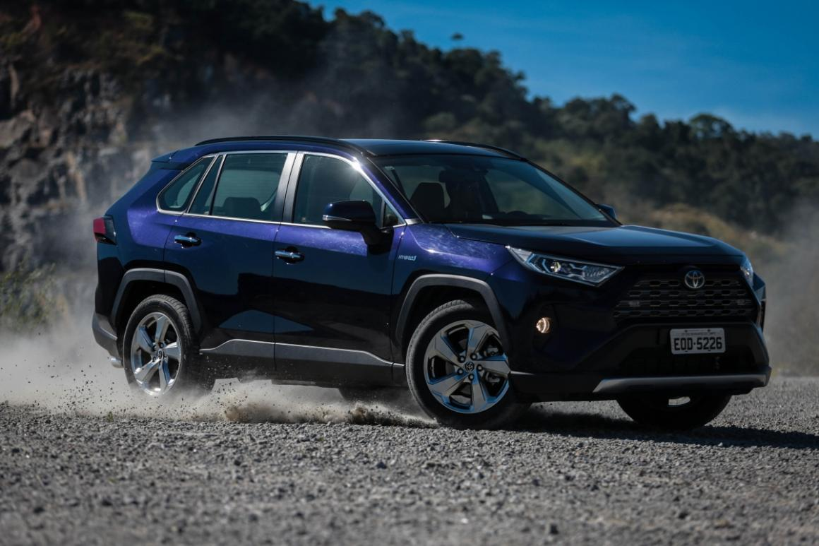 Toyota RAV4 brilha e foi o SUV mais desejado do mundo em 2019
