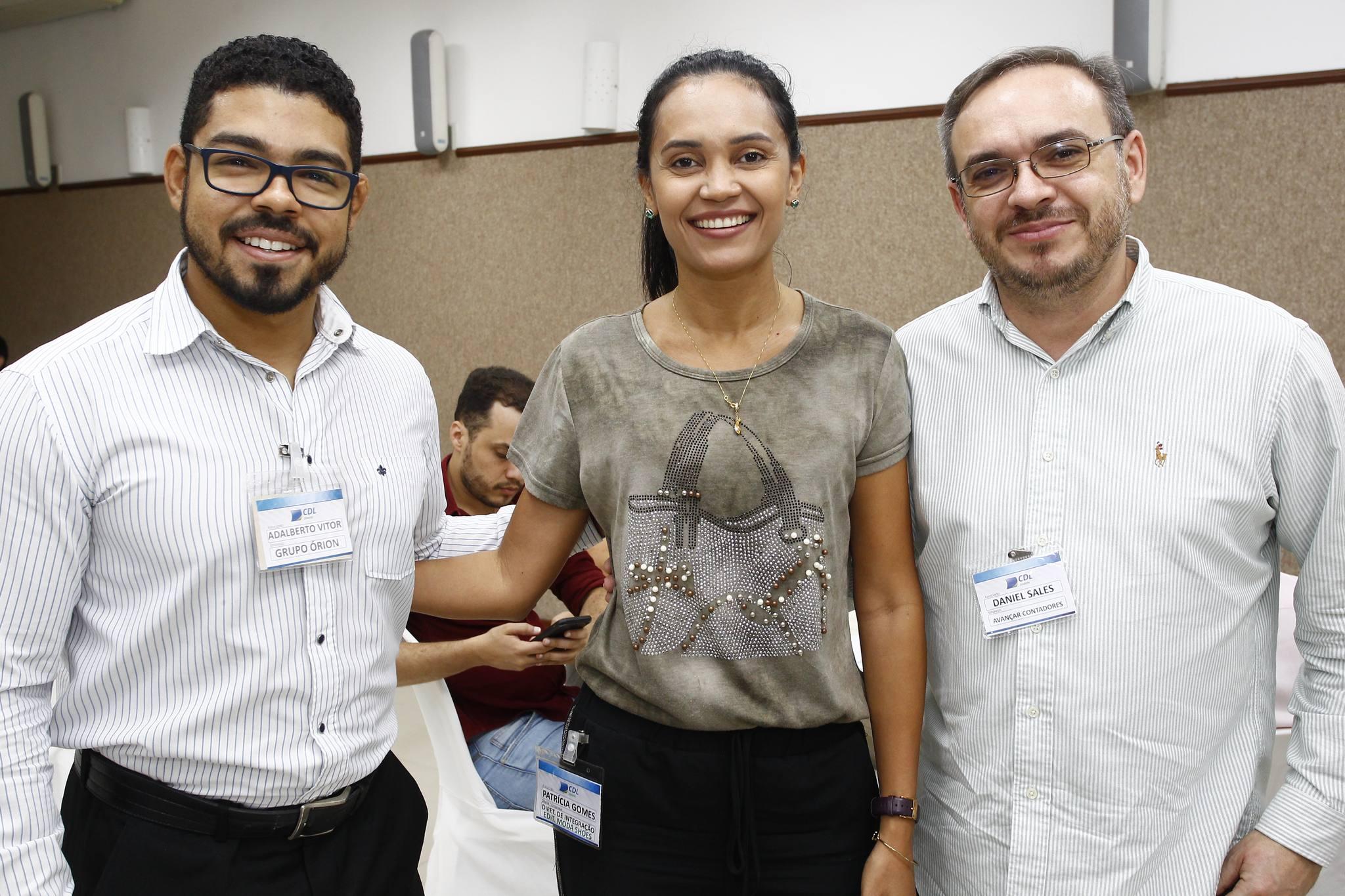 Adalberto Vitos, Patricia Gomes E Daniel Sales