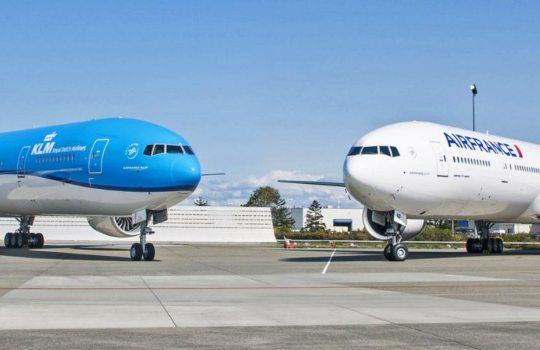 Air France e KLM flexibilizam política de ajuste de viagens